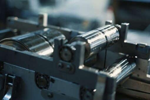 Carbon fiber tow epoxy resin bath in filament winding process