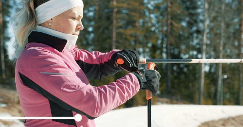 Carbon fibre materials enable even less than 100 g/m weight/length-ratio in ski poles.