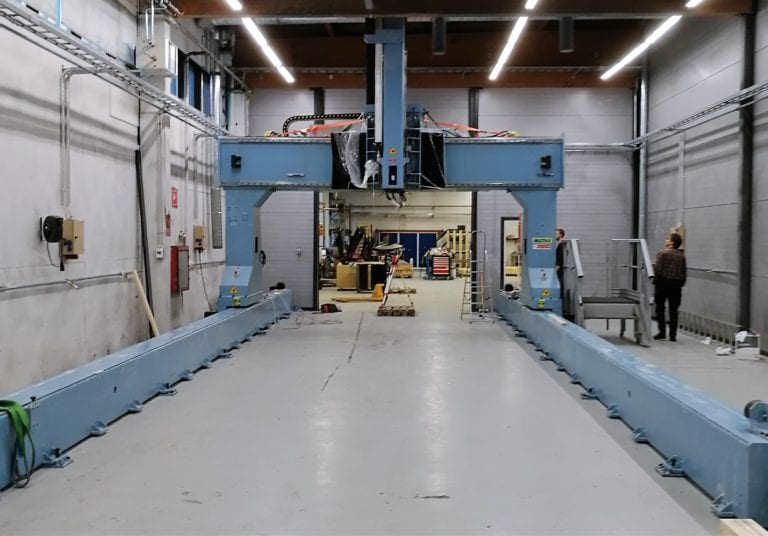 CSI invest a 5-axis milling machine with a working area of 11 x 4 x 1,5 m. Investment is made to improve the effectiveness and accuracy of trimming serial production parts.